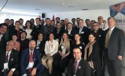 Nusra Şahin Türkiye'den Gelen İş Adamlarına Ankara Anlaşmasını Anlattı